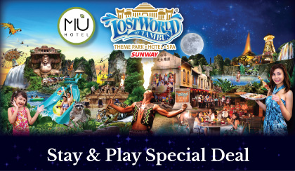MÙ Hotel Ipoh Lost World Promo