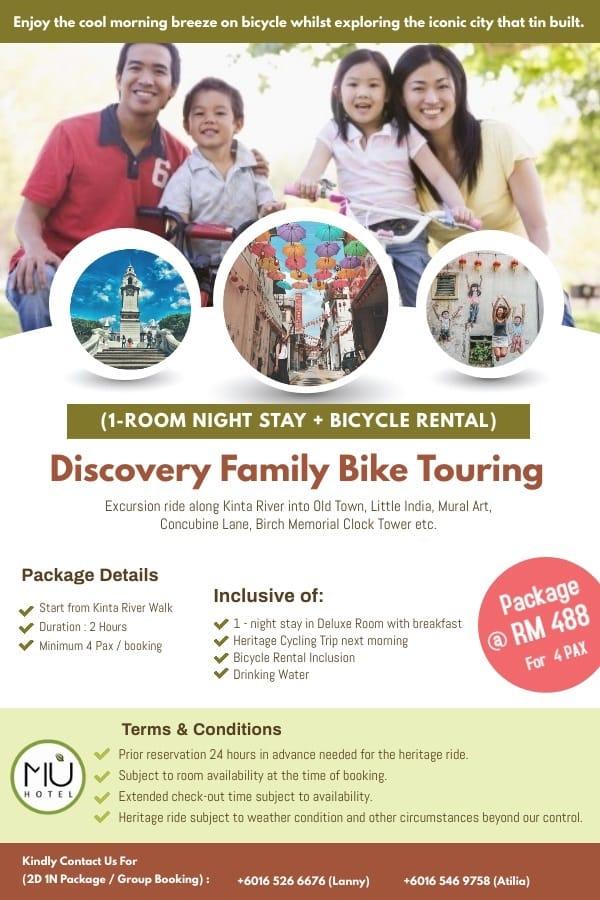 Discovery Family Bike Touring 2021 (New)   MU Hotel Ipoh