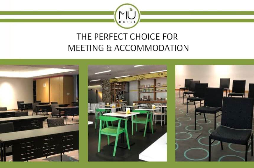 MÙ Meeting & Accommodation Package